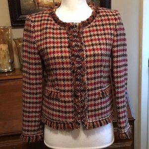 Ann Klein tweed blazer.